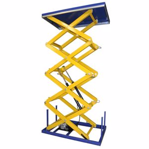 Picture of Triple Scissor Electric Lift Table 400kg - 2000kg