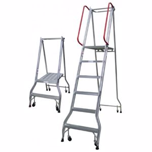 Picture of 4 Steps Monstar Industrial Ladder 1130mm Platform Height